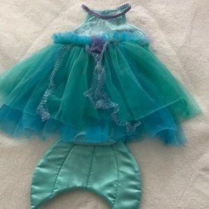 Disney baby mermaid costume